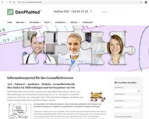 DenPhaMed - Informationsportal für das Gesundheitswesen