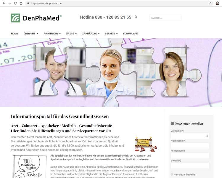DenPhaMed - Informationsportal Gesundheitswesen